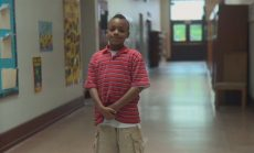 PreK-3rd for School Success screencap of child in hallway