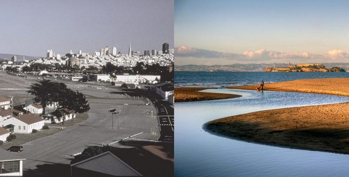 Crissy Field before and after