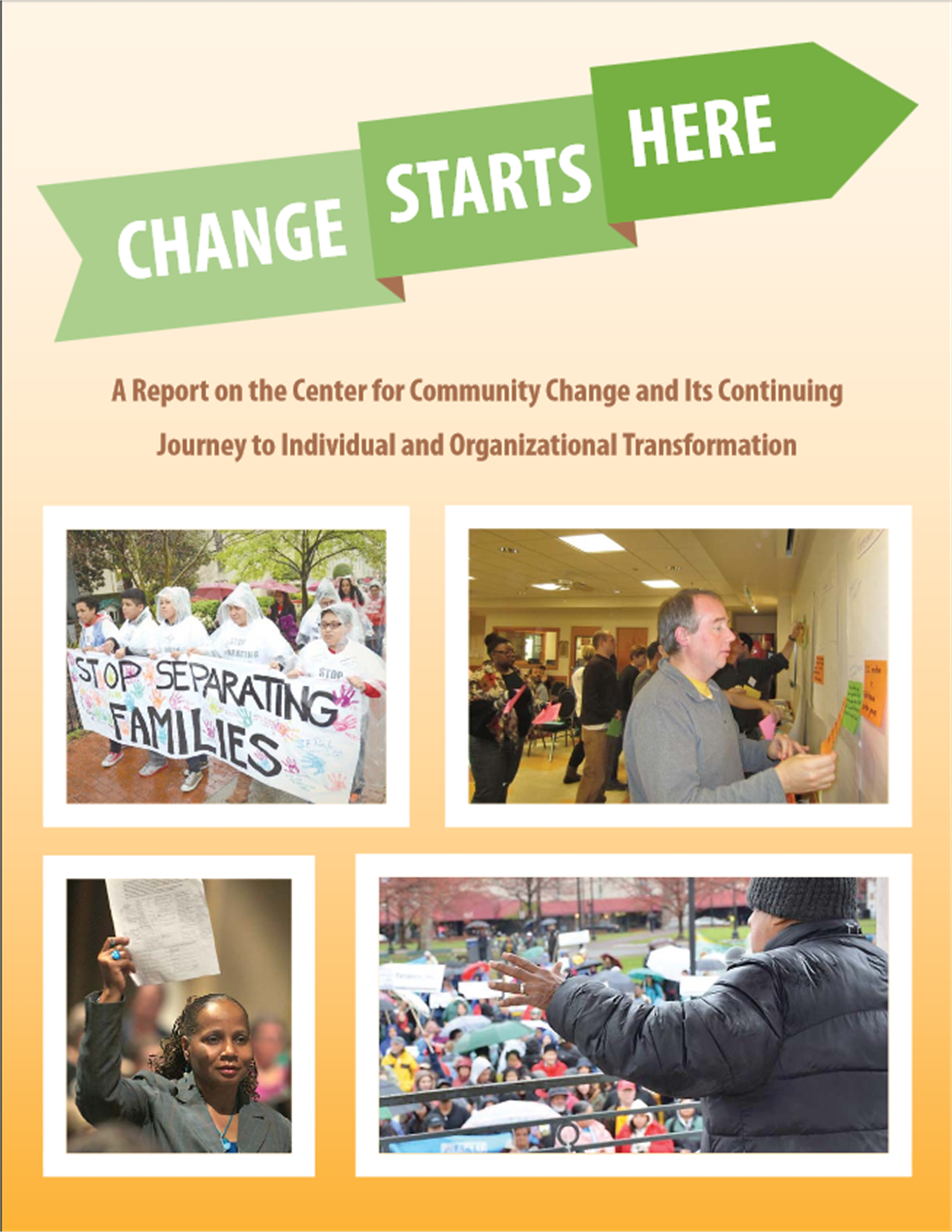 Change Starts Here Report Cover