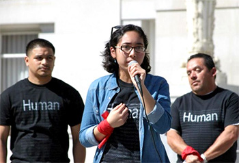 Putri Undocumented student rights activist