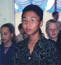 Terrence Park when he was younger