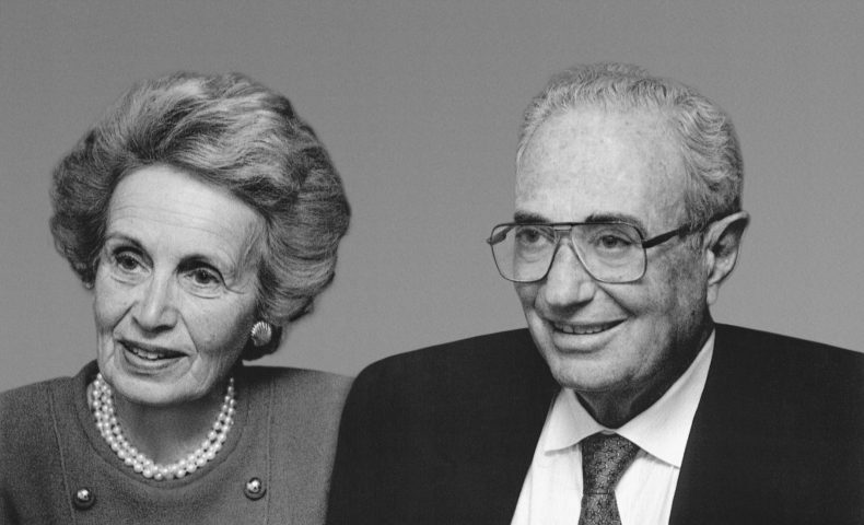 Co-founders Evelyn and Walter Haas