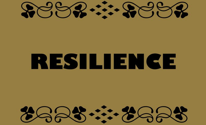 Resilience = Positive capacity to cope with stress and catastrophe