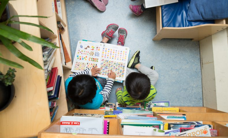 Early Education, children reading together