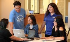 Cal State University San Bernardino students