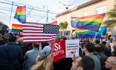 Day of Supreme Court gay marriage ruling in Castro
