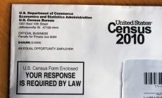 2010 Census, US census form mail