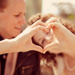 Lesbian couple wedding photo