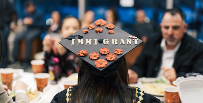 Dreamer Graduation Photo