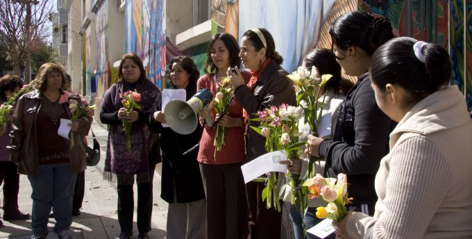 Mujeres Unidas y Activas at International Women's Day